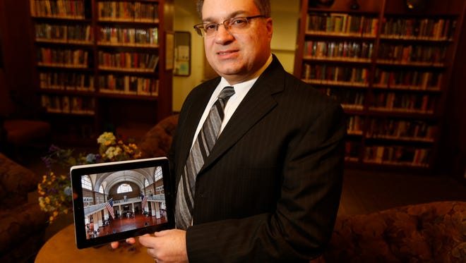 Jerry Crisci, president of Chestnut Hill Media, has authored a new eBook, Ellis Island: The Interactive Experience.   Shown March 10.
