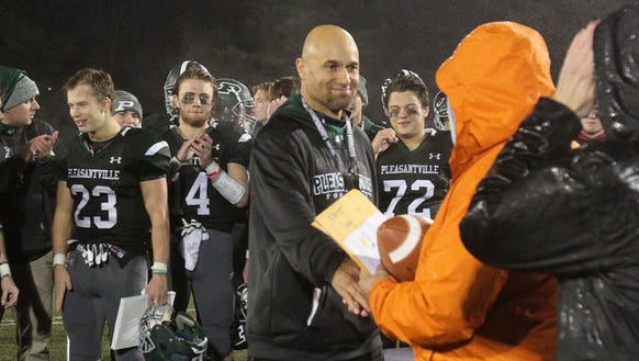 Pleasantville defeated Glens Falls 20-7 in the state