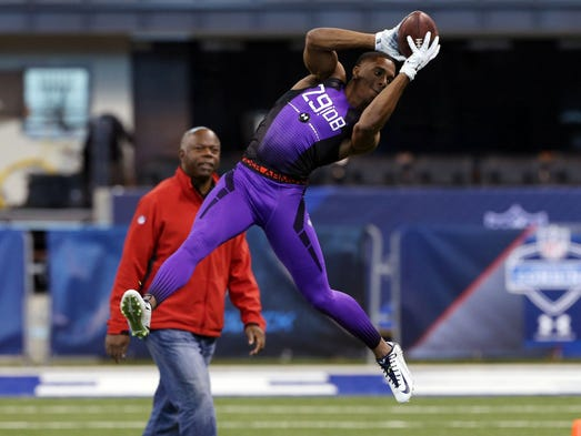 UConn CB Byron Jones put on a show on the combine's