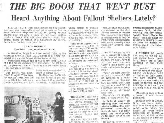 An July 22, 1962 Cincinnati Enquirer article about