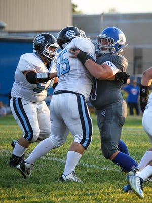 Conner's Sam Driggers was selected to play for the Kentucky squad against Tennessee in the 2016 National Guard Border Bowl before reinjuring his leg in a wrestling match.