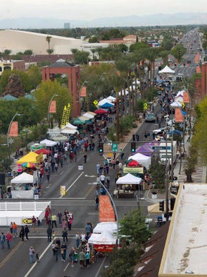 The third annual Rock the Block celebration shows off downtown Chandler's restaurants and shops and features family-friendly entertainment.