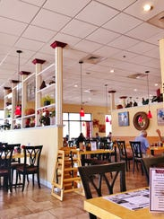 Dining area of Vista Grill at 466 SW Port St. Lucie