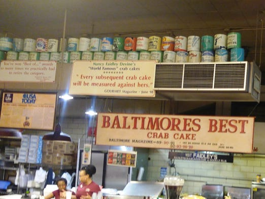 Best Food In Lexington Market Baltimore