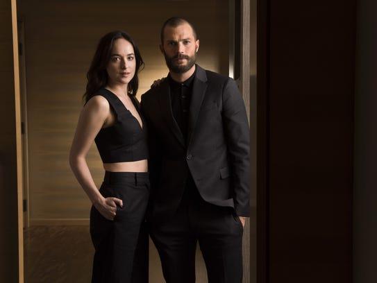 Dakota Johnson and Jamie Dornan return in 'Fifty Shades