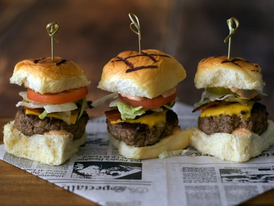 Angus sliders at Catch 41 Bar 'n' Grill in Ramada Inn on U.S. 41 in Naples.