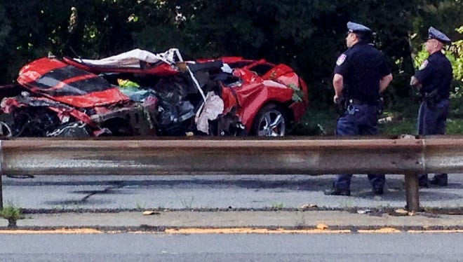 Christopher Seguinot of West Harrison was killed on July 30, 2014, after driving a Chevrolet Camaro off the Ashford Avenue Bridge in Dobbs Ferry.