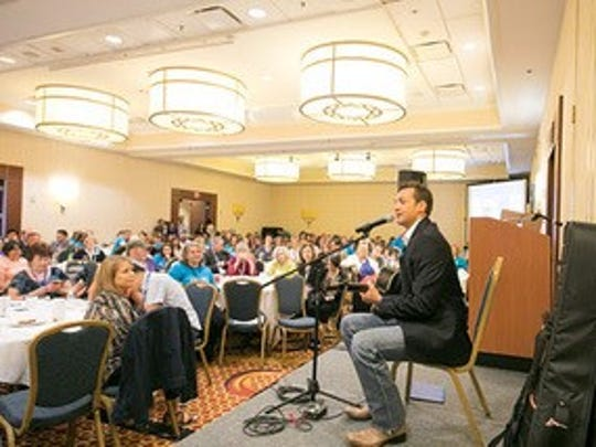 About 350 people attended the Hope Summit for lung-cancer