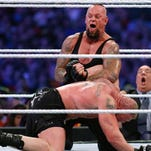 """Tonight's Undertaker-Brock Lesnar match is considered to be the final encounter between the two at the WWE """"Hell in a Cell"""" pay-per-view event."""