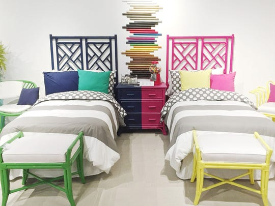 David Francis headboards come in a variety of rattan