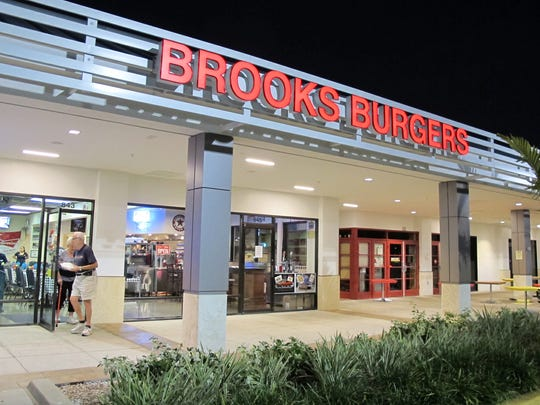 The second location of Brooks Gourmet Burgers & Dogs opened in December 2016 at The Pavilion shopping center in North Naples.