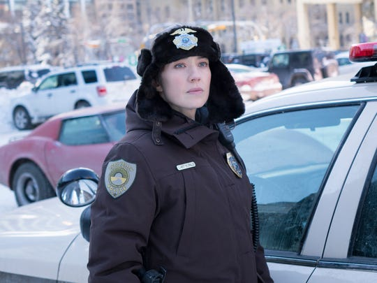 Carrie Coon as Gloria Burgle. in FX's 'Fargo.'