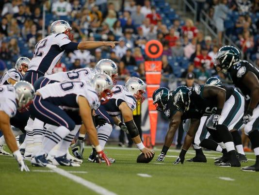 NFL: Preseason-Philadelphia Eagles at New England Patriots