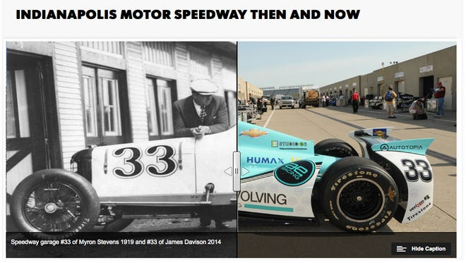 The cars aren't the only thing that have changed at the Indianapolis Motor Speedway.