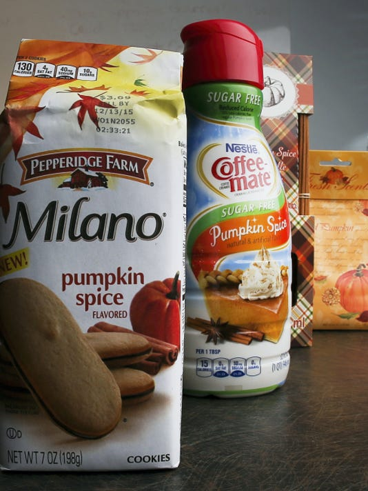 Pumpkin spice products hitting stores now range from cookies and doughnuts to candy and air freshener.