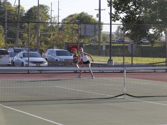 Seton Catholic Central's Claire Loughlin defeated Ithaca's
