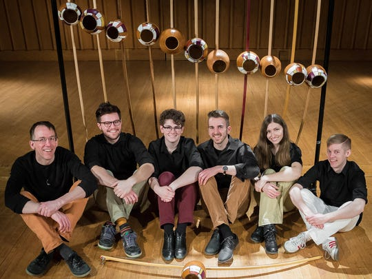 """Projeto Arcomusical is on the bill for Present Music's outdoor """"Sound & Sight"""" concert at Lynden Sculpture Garden Saturday."""