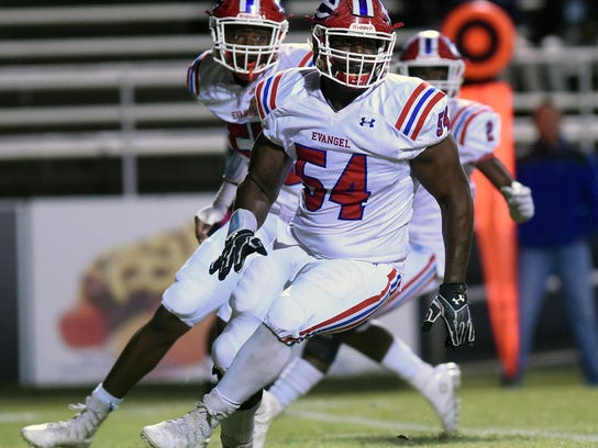 Evangel's Davin Cotton, an LSU commit, will lead the