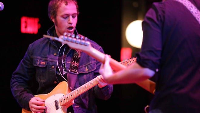 James Everhart (pictured) and Will Donnelly of Low Cut Connie and Scantron play Newark this week.