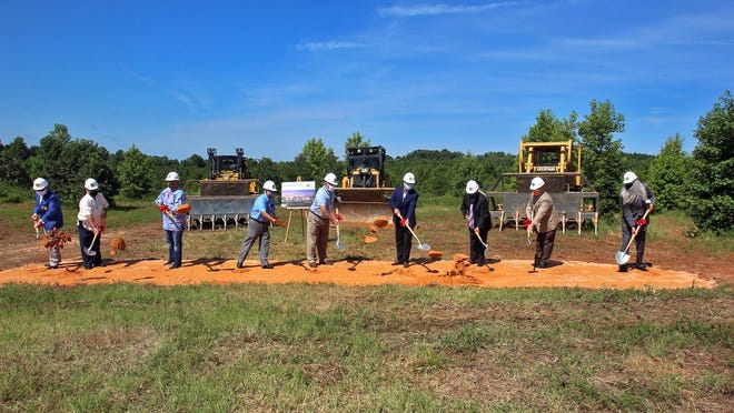 Ground is officially broken for the Catawba Indian Nation casino in Kings Mountain on Wednesday.