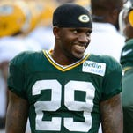 A healthy Casey Hayward (left) at cornerback should improve the Packers' defense.