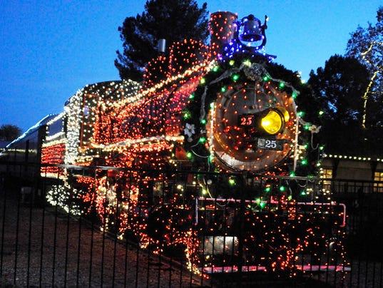 McCormick-Stillman Holiday Lights