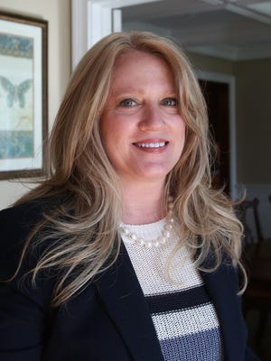 """Janine Crowley Haynes at her Mount Kisco home April 21, 2015. She is the author of """"My Kind of Crazy: Living in a Bipolar World,"""" about her illness, suicide attempt and recovery."""