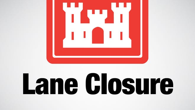 The Corps of Engineers will close both lanes of Highway 178 across Bull Shoals Dam from 8:30 a.m. until 6 p.m. Dec. 7 and 8 to install equipment needed to refurbish the tainter gates on Bull Shoals Dam.