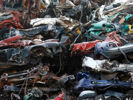 AP GERMANY SCRAPPING CARS IF FILE DEU