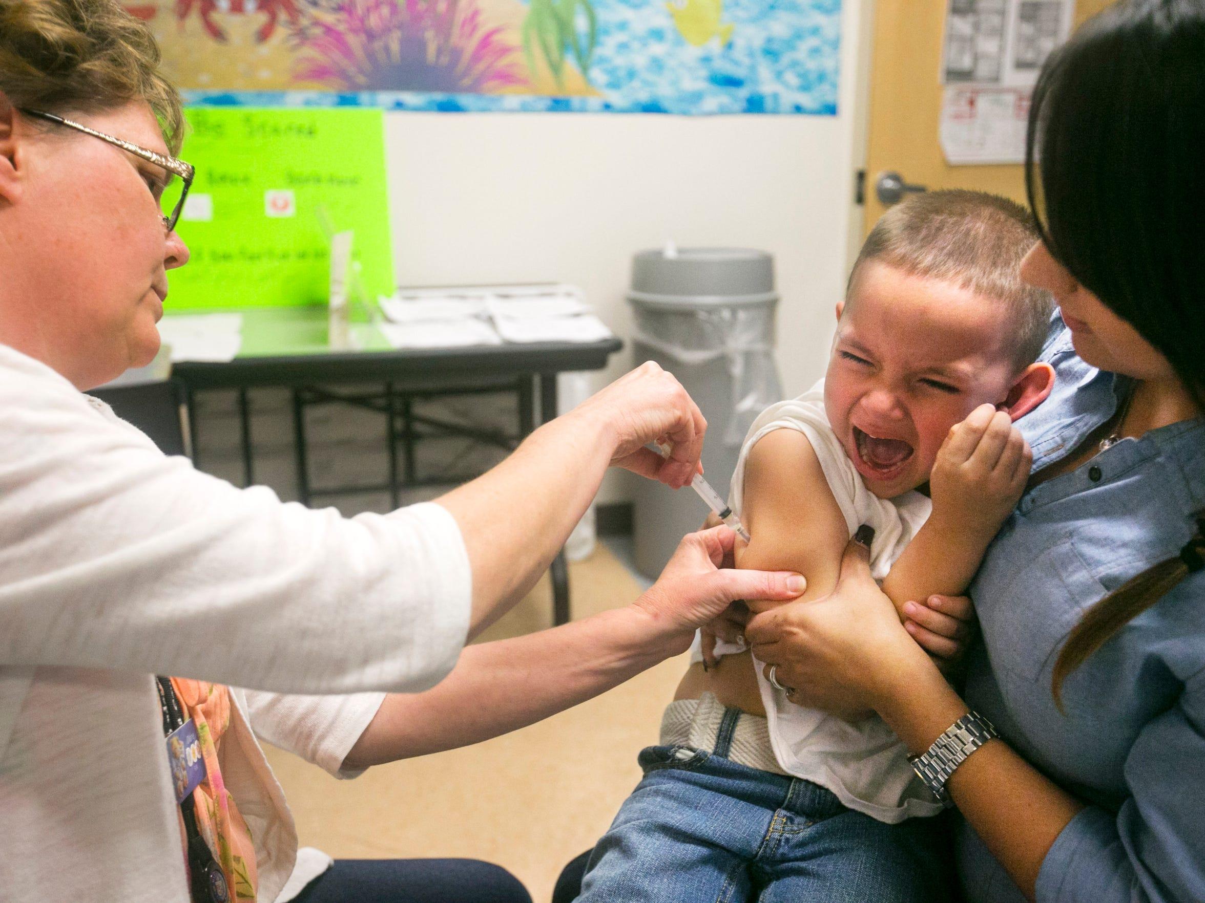 Maricopa County Public Health immunization nurse Diane