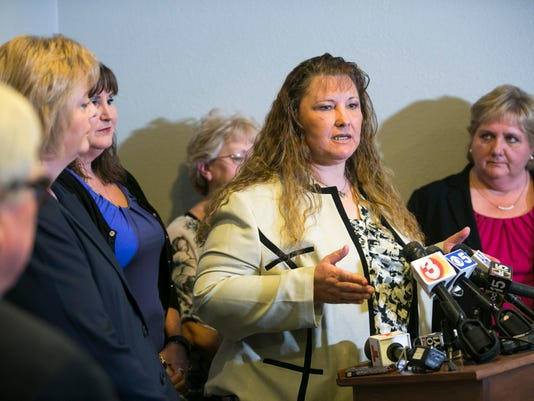 Fired CPS workers