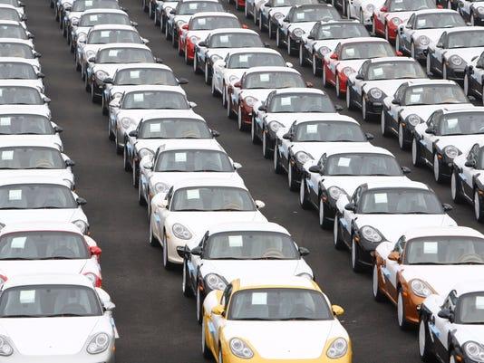 AP GERMANY CAR SALES I F FILE DEU