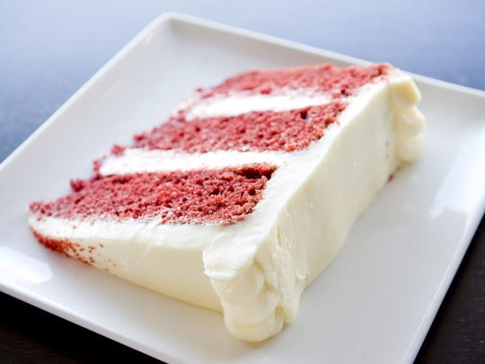 Liberty Market will add a blue layer to their red velvet cake for the 4th of July.