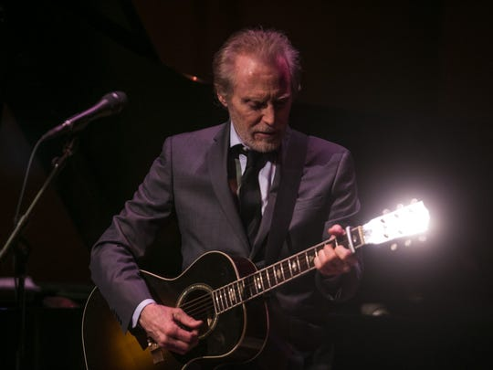 JD Souther performs to a packed house at the Musical