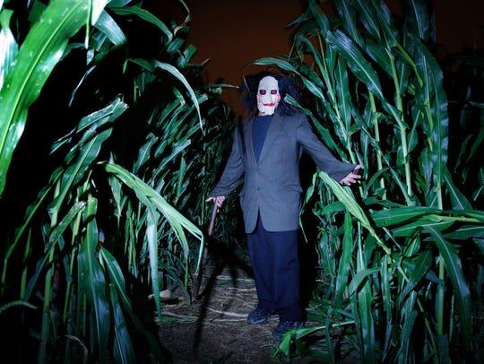 Creepy ghoulies haunt the Field of Screams.