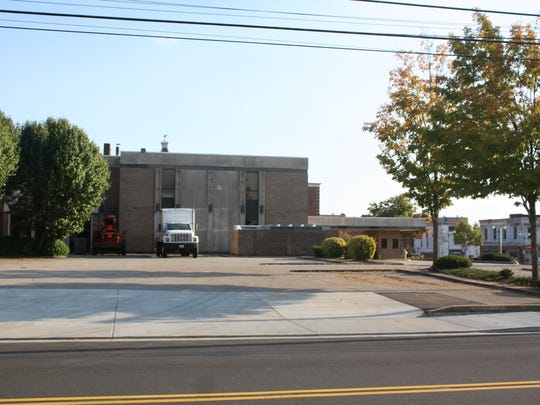 The old Bank of America property in downtown Clarksville, where the proposed Civic Plaza will be developed
