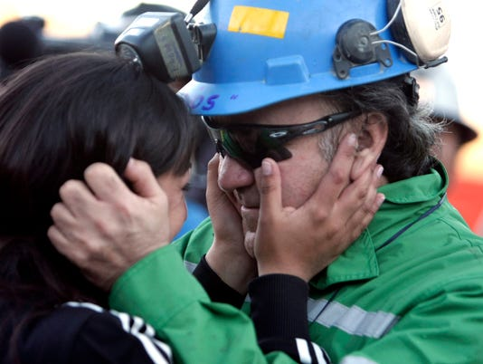 AP CHILE MINE COLLAPSE I CHL