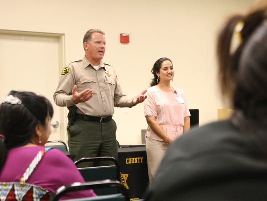 Sheriff's Greenfield Town Hall 1