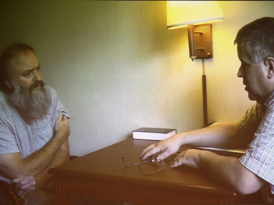 Monroe police Detective Gregg Myers interviews Daniel French in a 2013 video interview, about a year before he was arrested for murder.