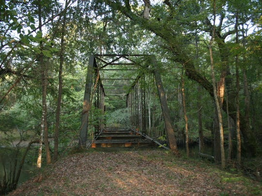 Bellamy Bridge in Jackson County is a hot zone for ghost activity.  It's said to be the home of the Burning Bride. It's open for tours.