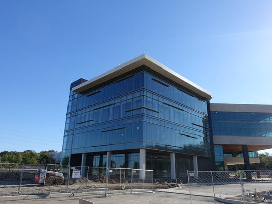 Microsoft will occupy 13,300 square feet of space at this building nearing completion at one C1TY.