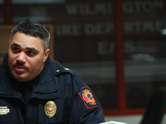 Wilmington fire Chief Anthony Goode will oversee a new deployment of staff starting Friday. Officials are seeking to install cost-saving measures.