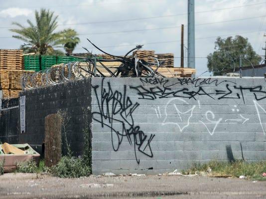 Phoenix graffiti
