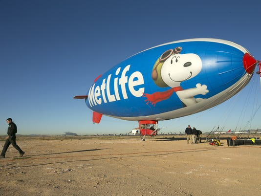 """Snoopy 2"" MetLife Blimp"