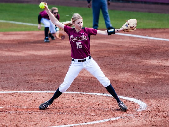 Jessica Burroughs will take over on the mound for FSU's softball team.