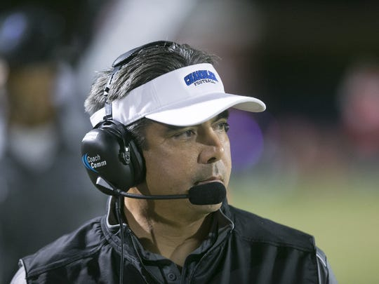 "Chandler High coach Shaun Aguano: ""Football has been"