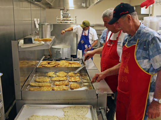 Lenten Fish Feed 2016, produced by Madonna del Sasso and Sacred Heart Parishes, Salinas