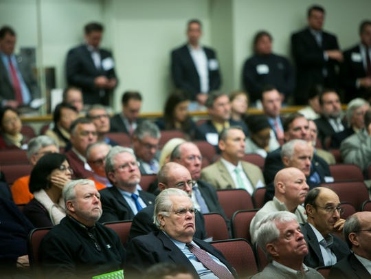 Hundreds attend the 2016 Economic Forecast held at