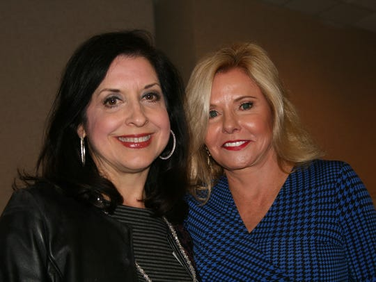 Felipa Solis, left, and Laura Tate-Goldman.