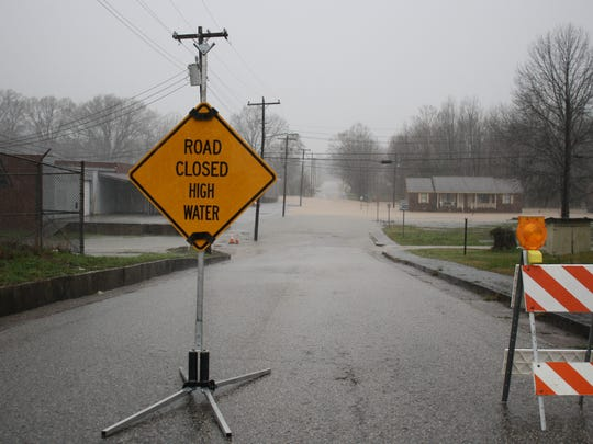 Highway Department Chief Bart Walls said the county ran out of signs closing roads during the flood of 2010 and had to get more signs from their supplier in Atwood.